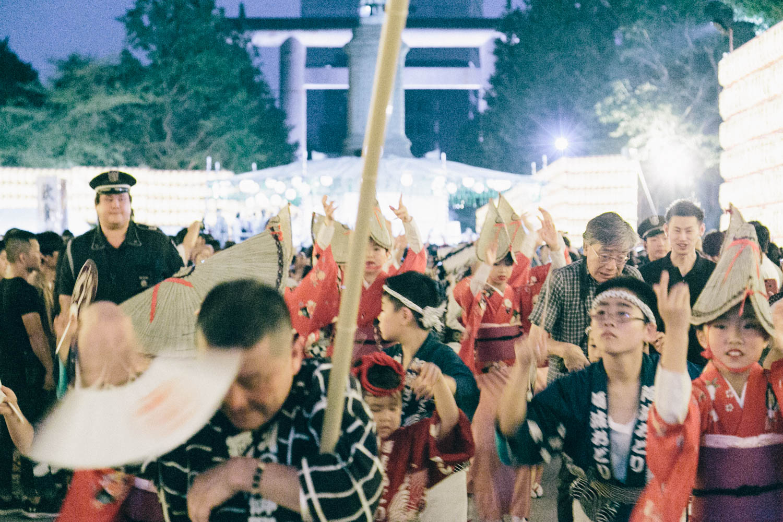 靖国神社祭り
